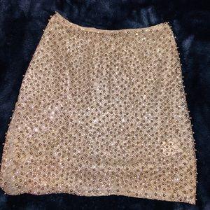 Oh Polly sparkly high waisted skirt!